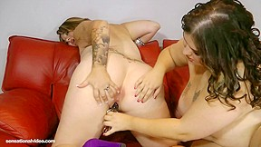 Sexy Horny  big beautiful woman Lesbian Babes Take Up With The Tongue Bellys, Pantoons and Gazoo