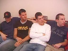 Eight boys jacking off defiantboyz...