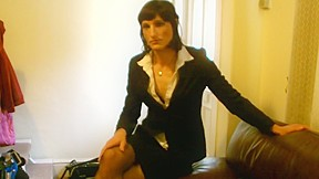 Tammy in her office outfit...
