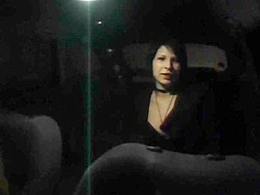 Quick taxi fuck recorded on the adult camera