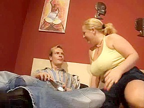 Corpulent German golden-haired mother i'd like to fuck