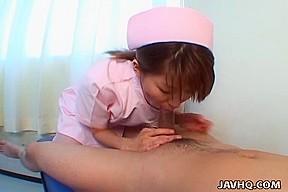 Asian teen Aya Inazawa gets a mouthful of spunk Uncensored