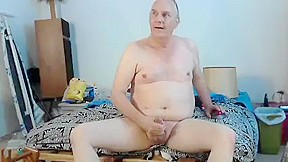 Jacking off with sex toy in...