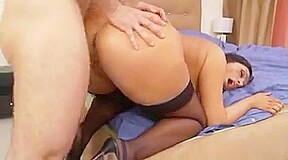 Ass stockings and anal...