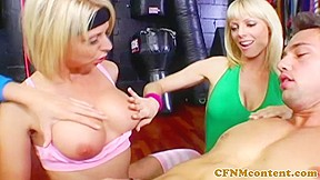 Busty cfnm milf kimberly kane cocksucking sub...