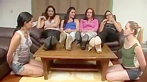 Brazilian feet worship...