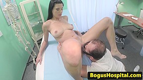 Bogus euro doctor doggystyle fucking patient...