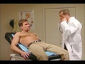 Gay patient fucks his doctor after examination