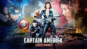 Charles dera in captain america a xxx parody...