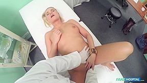 Barra in Cute sexy blonde still dizzy after doctor cums in her - FakeHospital
