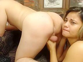 Latin ass on webcam...