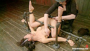 Tia ling tormented whore...