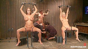 Trina michaels holly heart and christina carter part...