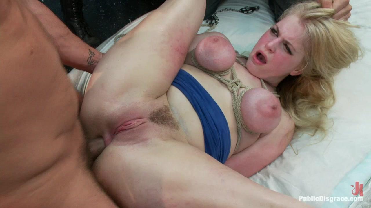 Shy girl naked boob