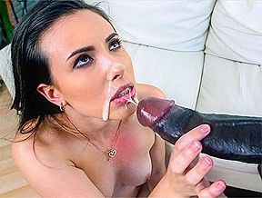 In finds cock her ass monstersofcock...