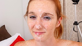 Deedee In First Time Sperm Face Facialsforever