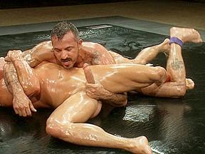 Tyler saint vs alessio romero the oil match...