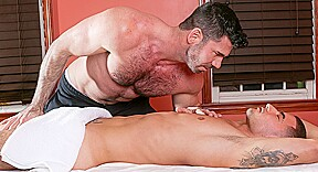 Billy santoro in gay massage house 4 scene...