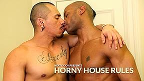 Marlone Starr & Romero Santos in Horny House Rules XXX Video - NextdoorEbony