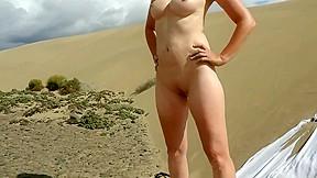 Stranger beach jerking off on my wife...