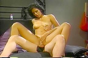 Stern mistress fucks submissive...