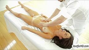 Yummy dillion harper massage...