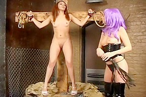 Sexy kelly wells is a brutal dominatrix...