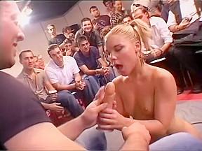 Slutty in crowd...