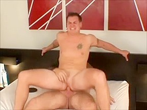 Chubby gay dude gets naughty with a sweet...