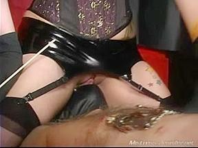 Shriek into her cum-hole whilst your ramrod is tortured