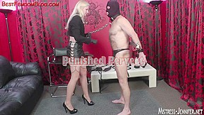 Thong on and 10-Pounder anguish after lengthy cunt worship
