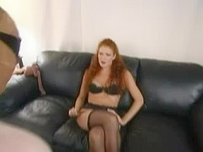 Redhead in Nylons Penis Female-Dominator