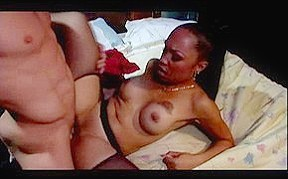In horny anal clip...