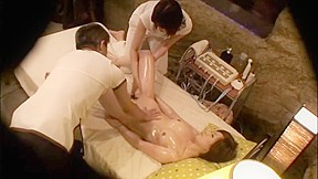 In women who came to receive oil massage, hame te spear is free Thai in a trap.