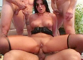 Hottest pornstars Makayla Cox and Kayla Paige in amazing dp, cunnilingus adult scene