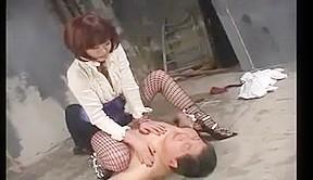 Japanese miss slapping
