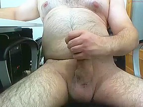 Mature male masturbating 3...