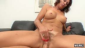 Vanessa Videl & Scott Lyons in Vanessa Videl Is A Horny Ho That Rides Dick - SexyCougars