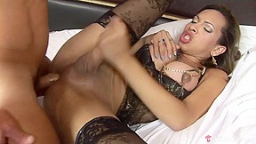 Sayara tight transsexual hooker earns her payload tranny...