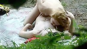 Voyeur caught couple...