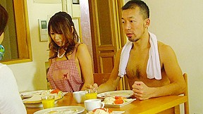 Jun Kusanagi & Yuri Aine in Yuri Aine and Jun Kusanagi having fun while naked with the family - AviDolz
