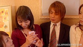 Talented japanese milf is involved into a nasty...