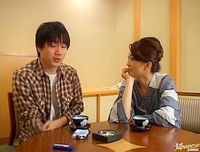 Shiori Endou Lovely Asian high school teacher
