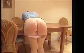 Big bottom spank...