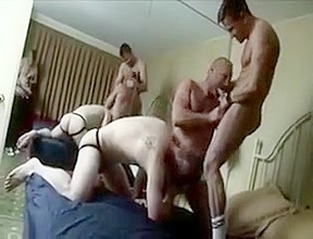 2 dick dogs and a man whore...