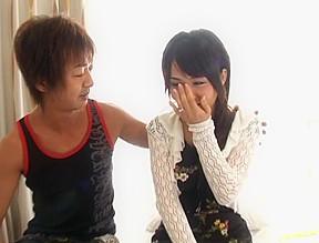 Yuka osawa gets a creamed pussy...