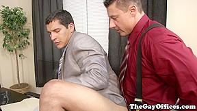 Hunk sucks cock before anal...