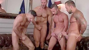 The allure of powerful masculine male passion...
