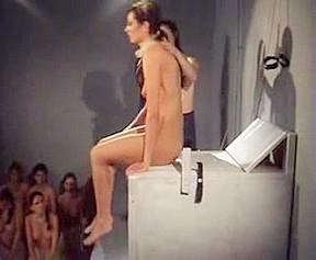 Mistress enjoys slaves...