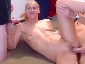 Pretty German Gangbang Swinger Party Orgy